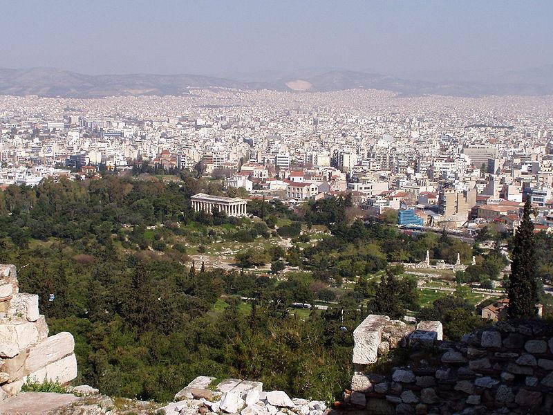L'agorà di Atene è un esempio di democrazia diretta