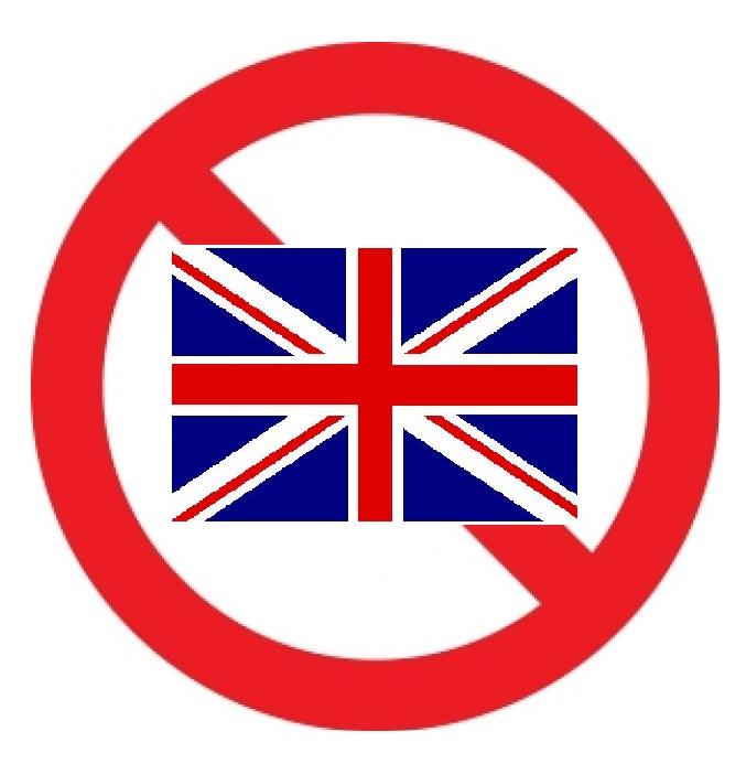 Per me, l'inglese è un dialetto.