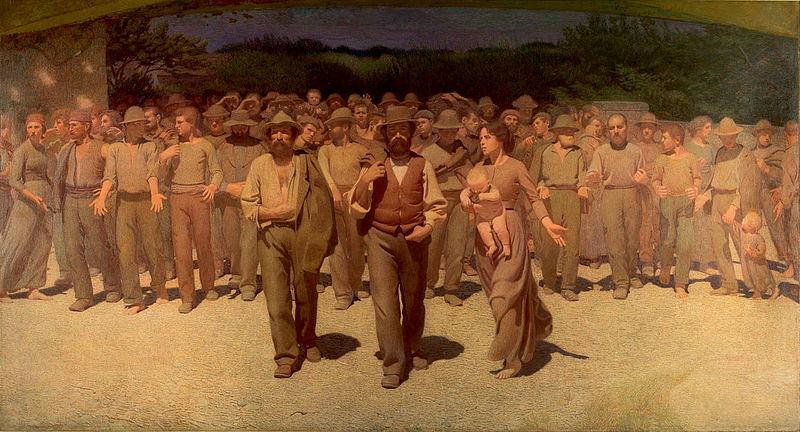 Un quadro per ricordare i diritti dei lavoratori