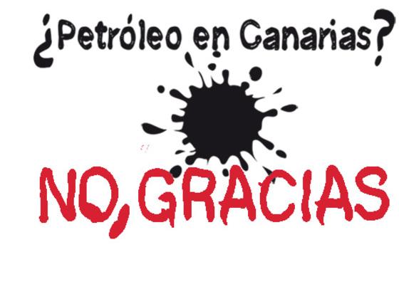 Contro l'estrazione del petrolio canario