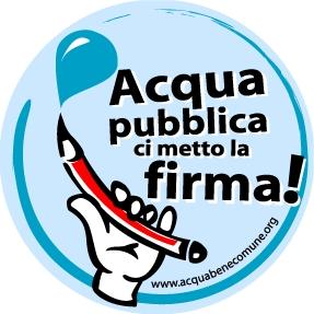 Campagna per l'acqua pubblica
