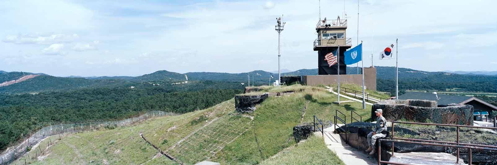 La Corea è uno dei tanti paesi divisi da muri.