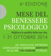 Ottobre mese del benessere psicologico