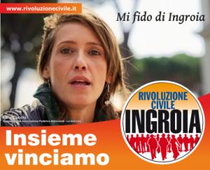 Ilaria Cucchi candidata con Rivoluzione Civile