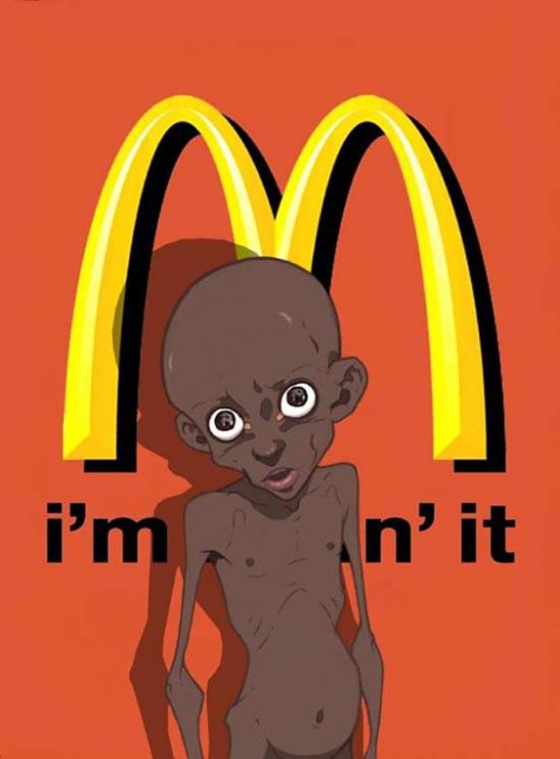 Luis Quiles fa satira sul McDonald's