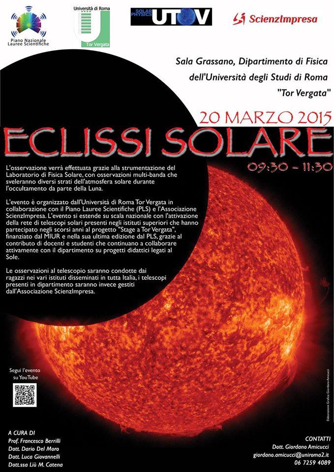 eclisse del 20 marzo 2015