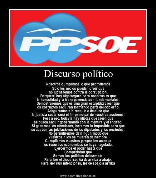 discorso PPSOE
