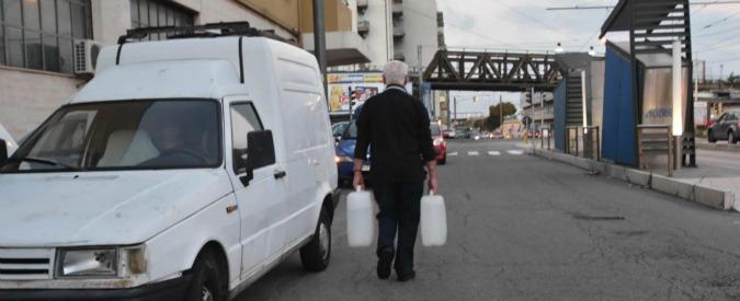 Messina senza acqua