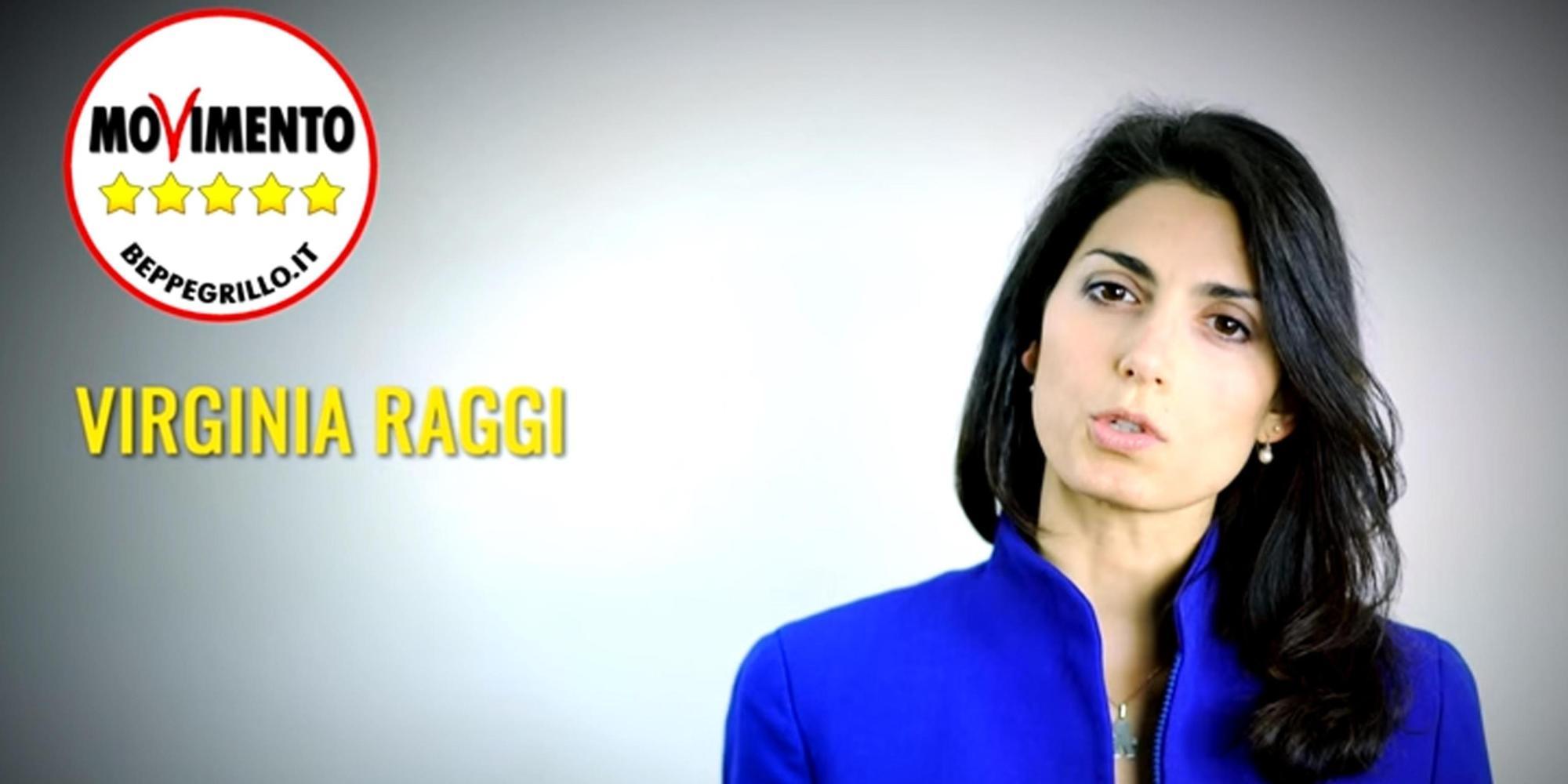 Virginia Raggi in una foto presa dalla sezione del blog di Beppe Grillo dedicata alle Comunarie per la scelta del candidato sindaco del Movimento a Roma. 18 febbraio 2016. ANSA/ BLOG BEPPE GRILLO +++ NO SALES - EDITORIAL USE ONLY +++