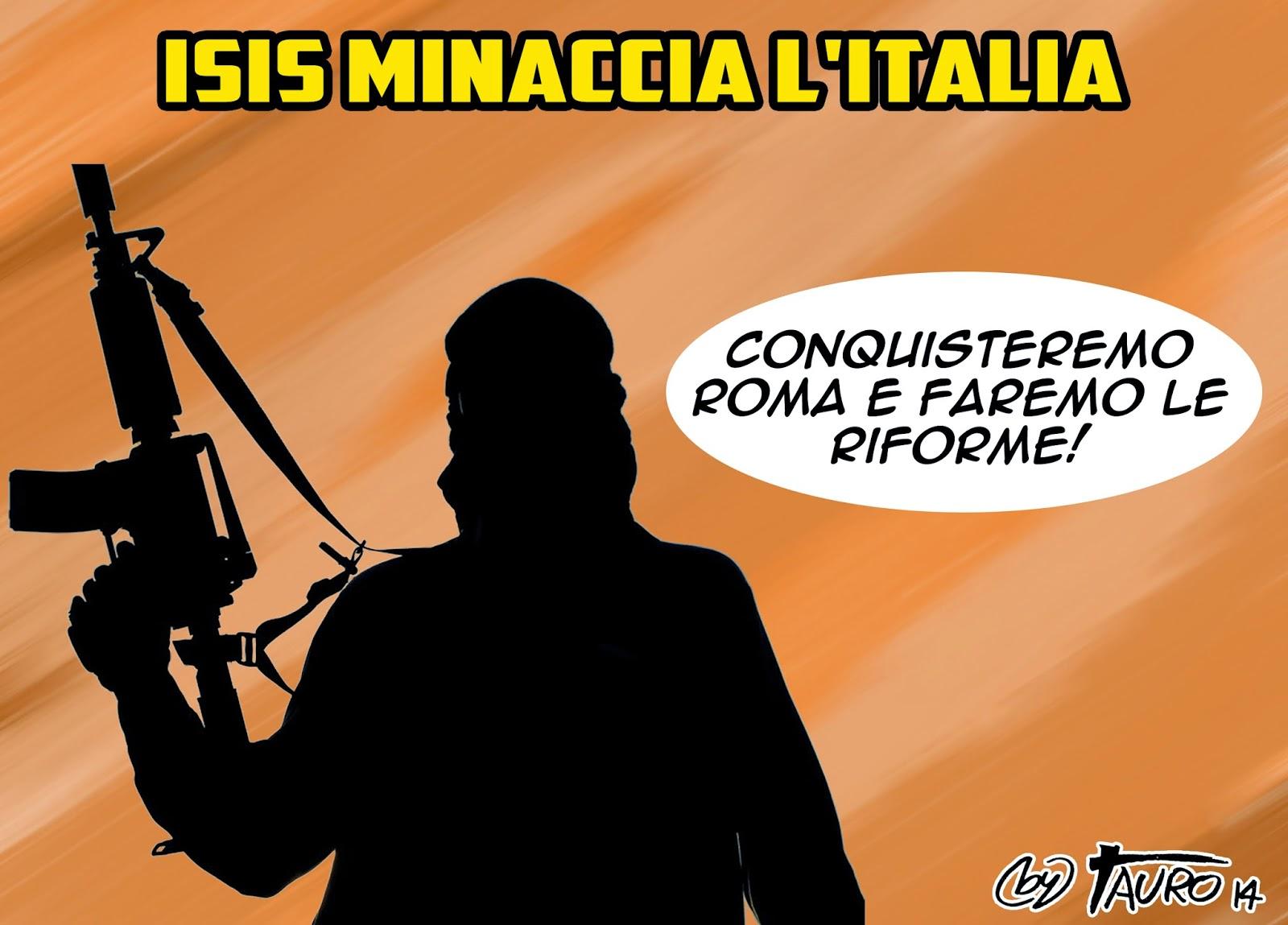 ISIS minaccia