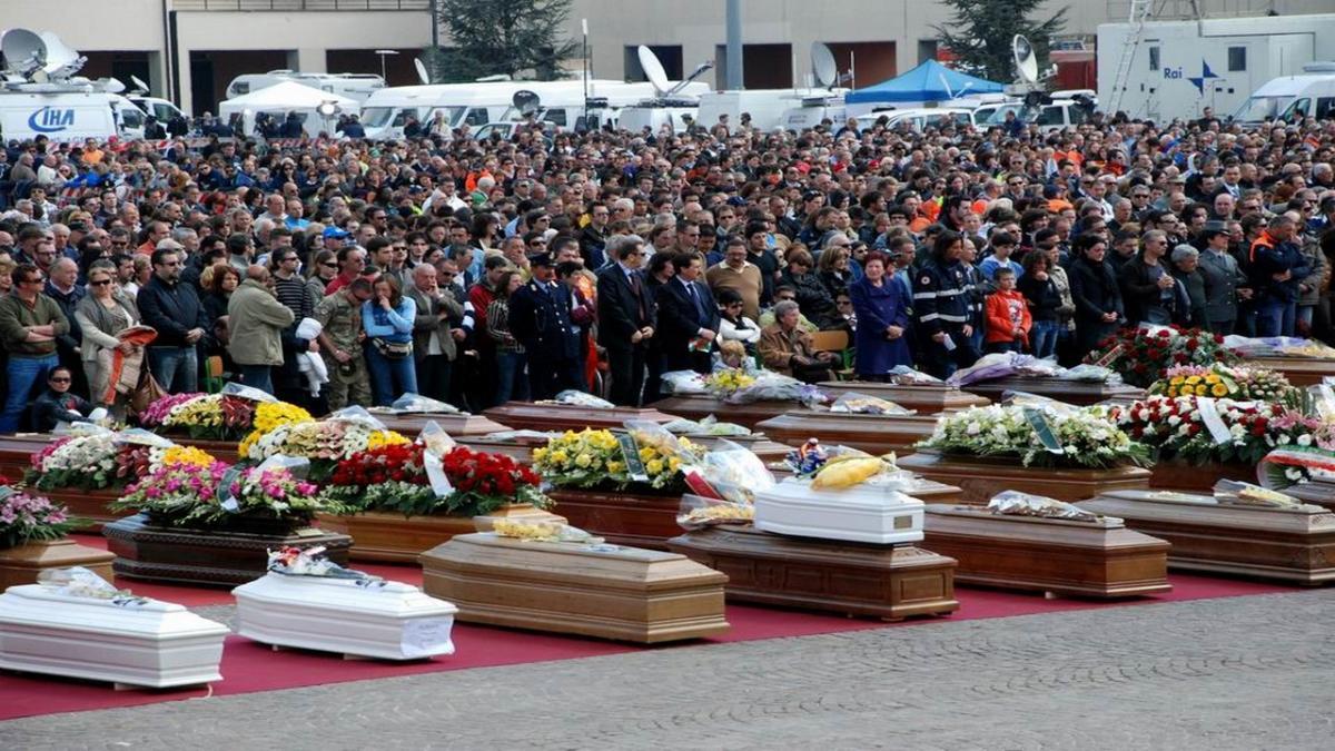 funerale di Stato in memoria di coloro che sono stati uccisi dal crollo del Viadotto Polcevera